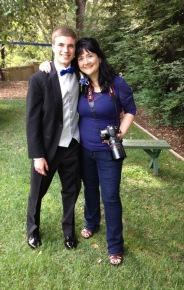Mick. Rich and Barb's son at his senior prom. He had me be part of the Mamarazzi and take his prom pics.